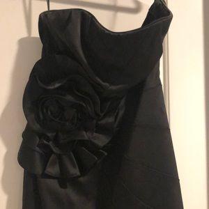 White House Black Market Flower Detail Dress